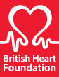 British Heart Foundation (BHF) logo.